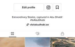 """دائرة الثقافة والسياحة – أبوظبي تطلق قناة """"زوروا أبوظبي"""" بالتعاون مع منصة تيك توك"""